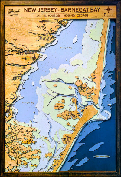 "Barnegat Bay - Xtra Large - 7 Layers - 34"" x 48"""