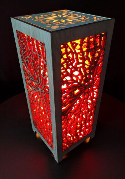 Coral Accent Lamp