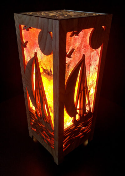 Sailboat Accent Lamp