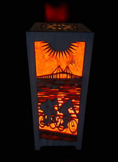 Biking Accent Lamp