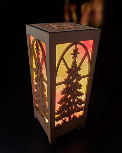 Christmas Accent Lamp